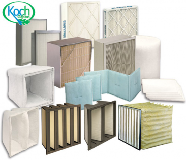 HVAC and Paint Booth Filters